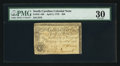 Colonial Notes:North Carolina, North Carolina April 2, 1776 $20 Rattlesnake PMG Very Fine 30.. ...