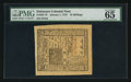 Colonial Notes:Delaware, Delaware January 1, 1776 10s PMG Gem Uncirculated 65 EPQ.. ...