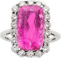 Estate Jewelry:Rings, Tourmaline, Diamond, White Gold. ...