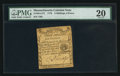 Colonial Notes:Massachusetts, Massachusetts 1779 3s 6d PMG Very Fine 20.. ...
