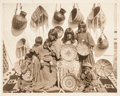 American Indian Art:Photographs, NINE UNMOUNTED PHOTOGRAPHS OF APACHE INDIANS BY WALTER J. LUBKEN...(Total: 9 Items)