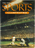 "Baseball Collectibles:Publications, 1954 ""Sports Illustrated"" Magazine First Issue. It emerged at animportant time in American history when spectator sports be..."