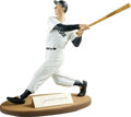 Autographs:Others, Joe DiMaggio Signed Gartlan Statue. From Gartlan USA, the company that has brought us several high-quality statues that foc...