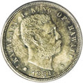 Coins of Hawaii: , 1883 10C Hawaii Ten Cents MS66 PCGS. A quick sorting through our online auction archives shows that this is the first time ...