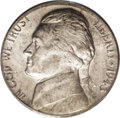 Errors: , 1943-P 5C Jefferson Nickel--Struck on a Curacao or Suriname Planchet--MS64 PCGS. Curacao and Suriname were Netherlands colo...