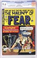 Golden Age (1938-1955):Horror, Haunt of Fear #16 (#2) Gaines File pedigree (EC, 1950) CGC NM+ 9.6White pages. The Old Witch made her first appearance in t...