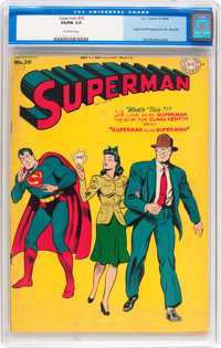 Superman #30 (DC, 1944) CGC VG/FN 5.0 Off-white pages
