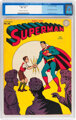 Superman #33 (DC, 1945) CGC VF- 7.5 Off-white to white pages