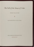 Books:Literature 1900-up, Edgar Allan Poe. LIMITED SIGNED. The Fall of the House ofUsher. Limited Editions Club, 1985. Limited to 1500 ha...
