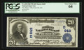 National Bank Notes:Pennsylvania, Pottsville, PA - $20 1902 Plain Back Fr. 650 The Miners' NB Ch. #(E)649. ...