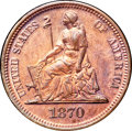 Patterns, 1870 10C Ten Cents, Judd-834, Pollock-924, High R.6, PR66 Red and Brown NGC. CAC....
