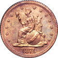 1871 H10C Standard Silver Half Dime, Judd-1066, Pollock-1201, R.7, PR67 Red and Brown NGC. CAC....(PCGS# 71325)