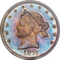 Patterns, 1875 20C Sailor Head Twenty Cents, Judd-1392, Pollock-1535, R.6,PR67+ NGC. CAC....
