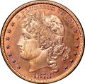 Patterns, 1878 $1 Goloid Dollar, Judd-1559, Pollock-1751, R.7, PR66 Red andBrown NGC. CAC....