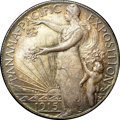 Patterns, 1915 P50C No S Panama-Pacific Half Dollar, Judd-1791/1961,Pollock-2029, High R.7, PR65 NGC. CAC....