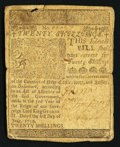 Colonial Notes:Delaware, Delaware June 1, 1759 20s Fine.. ...