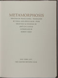 Books:Literature 1900-up, Franz Kafka. SIGNED LIMITED. Metamorphosis. Limited EditionsClub, 1984. Limited to 1500 hand-numbered copies si...
