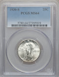Standing Liberty Quarters: , 1930-S 25C MS64 PCGS. PCGS Population (261/322). NGC Census:(125/169). Mintage: 1,556,000. Numismedia Wsl. Price for probl...