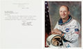 Autographs:Celebrities, Tom Stafford Typed Letter and Color Photo Signed. ... (Total: 2Items)