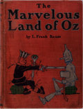 Books:Children's Books, L. Frank Baum. The Marvelous Land of Oz. Reilly &Britton, 1904. First edition, second issue. Illustrated by Joh...