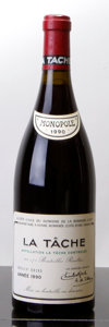 Red Burgundy, La Tache 1990 . Domaine de la Romanee Conti . lbsl, lscl,#04181. Bottle (1). ... (Total: 1 Btl. )