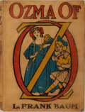 Books:Children's Books, L. Frank Baum. Ozma of Oz. Illustrated by John R. Neill. TheReilly & Britton Co., 1907. Publisher's pictorial b...