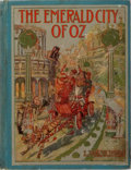Books:Children's Books, L. Frank Baum. The Emerald City of Oz. The Reilly &Britton Co., 1910. Illustrations by John R. Neill. Publisher...