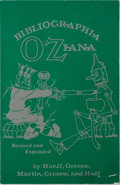 Books:Reference & Bibliography, Douglas C. Greene, et al. Bibliographia Oziana.International Wizard of Oz Club, 1988. Later revised and enlarge...