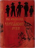 Books:Literature Pre-1900, Mark Twain. The Adventures of Huckleberry Finn (Tom Sawyer'sComrade). Chatto & Windus, 1884. First edition. Ill...