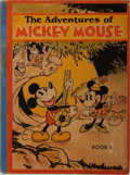 Books:Children's Books, [Walt Disney] The Adventure of Mickey Mouse, Book I. DavidMcKay Company, 1931. First edition. Publisher's picto...