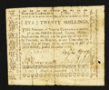 Colonial Notes:North Carolina, North Carolina December, 1768 20s Very Good.. ...