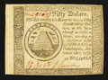 Colonial Notes:Continental Congress Issues, Continental Currency September 26, 1778 $50 Extremely Fine.. ...