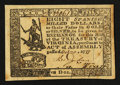 Colonial Notes:Virginia, Virginia October 20, 1777 $8 About New.. ...