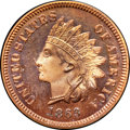 1863 P1C With L Indian Cent, Judd-301, Pollock-363, R.7, PR66 ★ Red NGC. CAC....(PCGS# 80456)