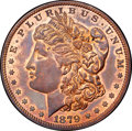 Patterns, 1879 $1 Morgan Dollar, Judd-1612, Pollock-1808, R.6, PR64 Red and Brown NGC. CAC....