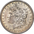Errors, 1879 $1 Morgan Dollar -- Partial Collar -- XF45 NGC....