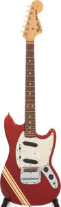 Musical Instruments:Electric Guitars, 1971 Fender Competition Mustang Red Solid Body Electric Guitar,Serial # 330783. ...