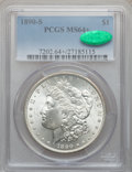 Morgan Dollars: , 1890-S $1 MS64+ PCGS. CAC. PCGS Population (2893/800). NGC Census:(2121/418). Mintage: 8,230,373. Numismedia Wsl. Price fo...
