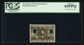 Fractional Currency:Second Issue, Second Issue 25¢ Experimental PCGS Gem New 65PPQ.. ...