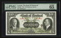 Canadian Currency: , Montreal, PQ- The Bank of Montreal $10 Jan. 2, 1931 Ch. #505-58-04. ...