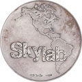 """Explorers:Space Exploration, Skylab: """"America's First Space Workshop"""" Large Silver Medal Directly from the Personal Collection of Skylab III Pilot William ..."""