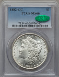 Morgan Dollars, 1882-CC $1 MS66 PCGS. CAC....