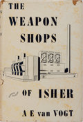 Books:Science Fiction & Fantasy, A. E. van Vogt. The Weapon Shops of Isher. Corwin/Greenberg, 1951. First edition. Publisher's cloth and price-cl...
