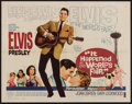 "Movie Posters:Elvis Presley, It Happened at the World's Fair (MGM, 1963). Half Sheet (22"" X28""). Elvis Presley.. ..."