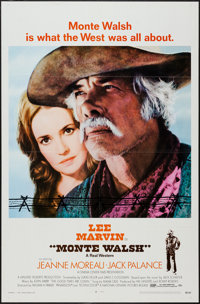 """Monte Walsh & Other Lot (National General, 1970). One Sheets (2) (27"""" X 41"""") & Snipe (6.5""""..."""