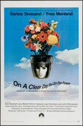 """Movie Posters:Comedy, On a Clear Day You Can See Forever (Paramount, 1970). One Sheet (27"""" X 41""""). Comedy.. ..."""