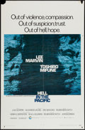"Movie Posters:War, Hell in the Pacific (Cinerama Releasing, 1968). One Sheet (27"" X41""). War.. ..."