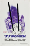 "Movie Posters:Bad Girl, 99 Women and Other Lot (Commonwealth United, 1968). One Sheets (2)(27"" X 41""). Bad Girl.. ... (Total: 2 Items)"