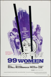 "99 Women and Other Lot (Commonwealth United, 1968). One Sheets (2) (27"" X 41""). Bad Girl. ... (Total: 2 Items)"