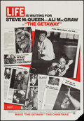"Movie Posters:Action, The Getaway (National General, 1972). One Sheet (27"" X 41"") LifeMagazine Style. Action.. ..."